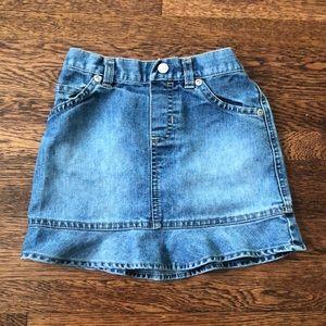 Girls Old Navy Denim Skirt